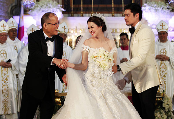 FAIRY-TALE WEDDING FOR DINGDONG AND MARIAN