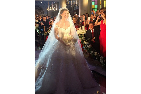 Fairy Tale Wedding For Dingdong And Marian