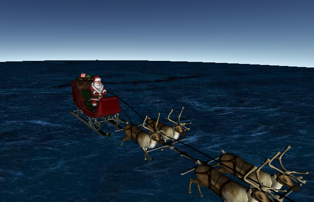 NORAD SANTA TRACKER 2015 FOLLOWS FATHER CHRISTMAS AS HE DELIVERS ...