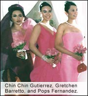 Chin Chin Gutierrez, Gretchen Barreto and Pops Fernandez