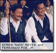 'Bata' Reyes with FPJ