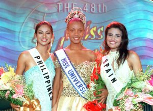 Miss Philippines, Miss Bostwana, Miss Spain