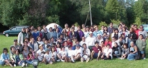 Paetenians Camping 2000 Group Picture